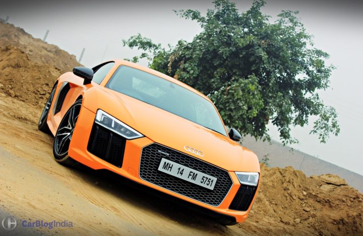 audi r8 v10 plus test drive review images