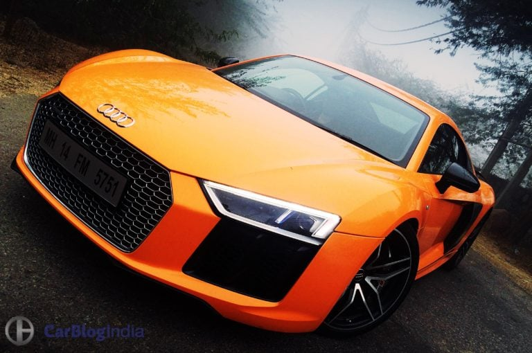 Audi R8 V10 Plus Test Drive Review – The Road Runner!