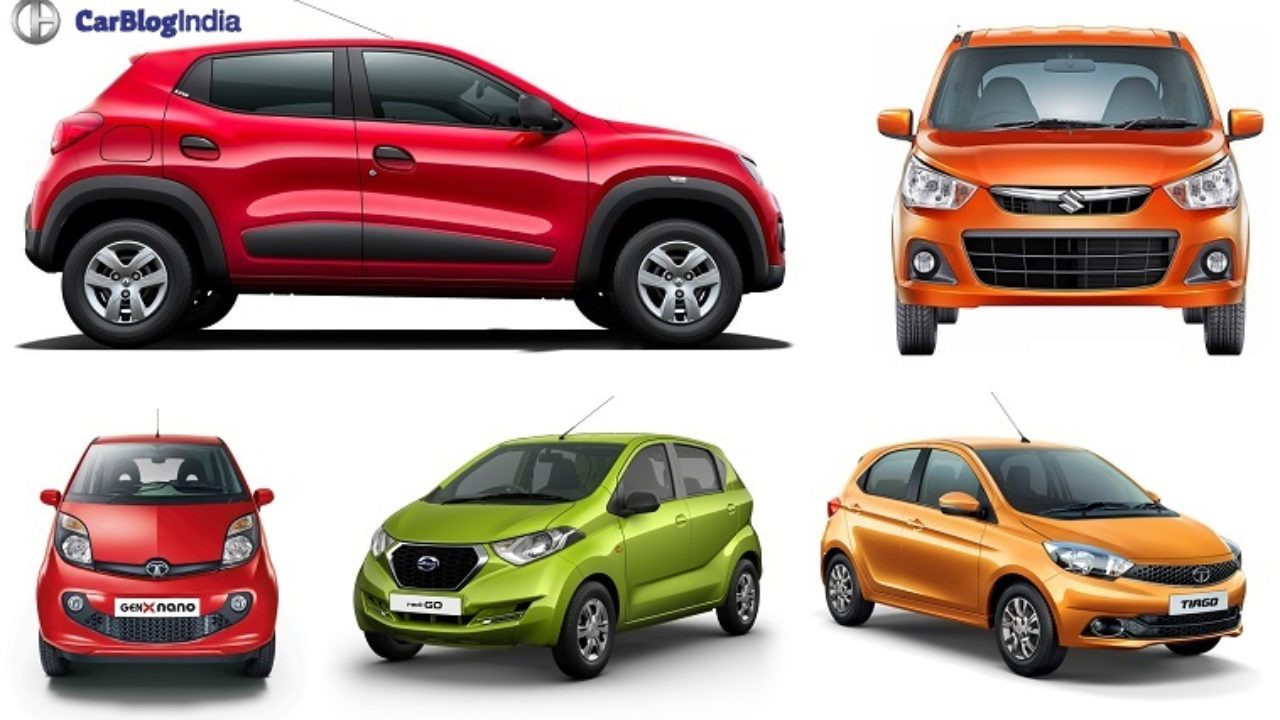 best small cars in india under 4 lakhs with images, mileage, specs