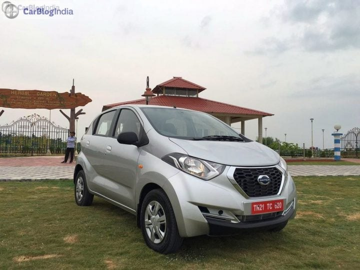 Most Fuel Efficient Petrol Cars in India datsun redi go test drive review images- (2)