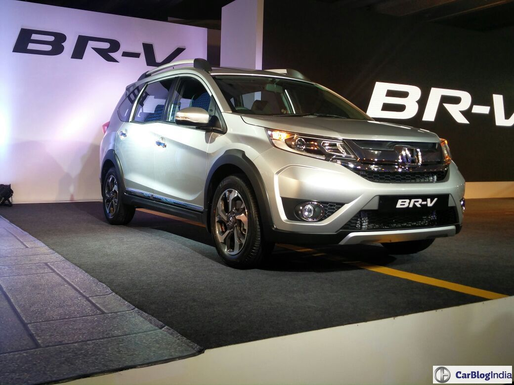 Honda BRV Official Launch Image Silver