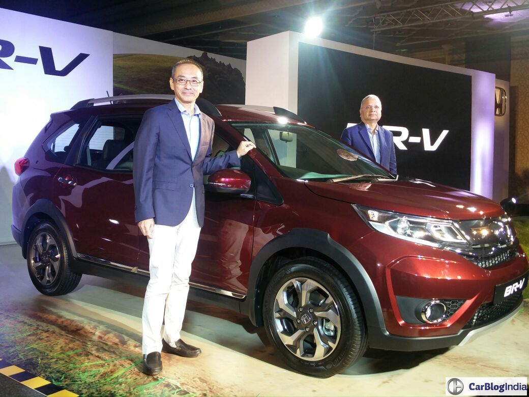 honda BRV official launch image - CarBlogIndia