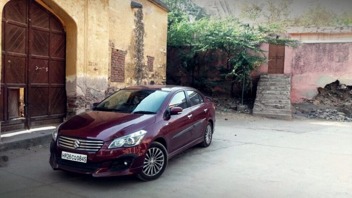 best car in india - maruti-ciaz-rs-shvs-front-angle