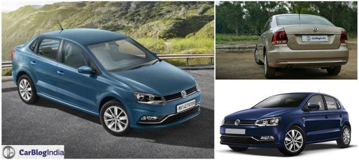 volkswagen ameo vs vento vs polo comparison