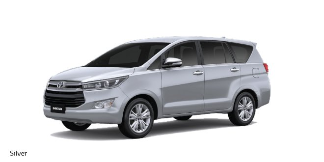 2016 Toyota Innova India Silver Colour Carblogindia