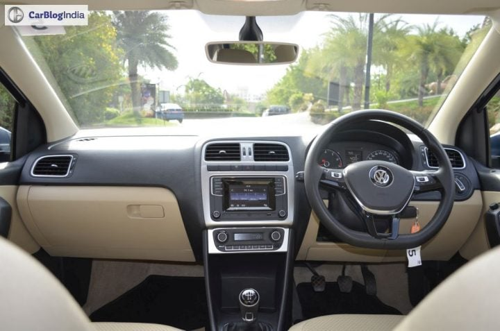 volkswagen ameo test drive review images