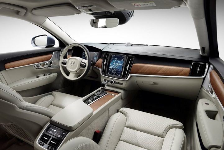 Volvo S90 India Launch, Price, Specifications, Feautres, Details - Volvo S90 Interiors