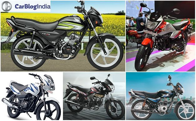 Best 100cc Bike in India Price, Specifications, Mileage and Image