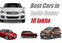 best cars in india below 10 lakhs