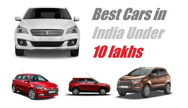 Best Cars in India Below 10 Lakhs - Car Buying Guide
