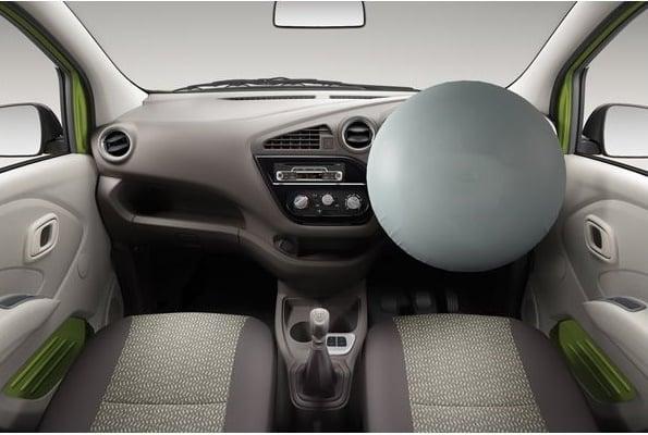 datsun redi go airbag