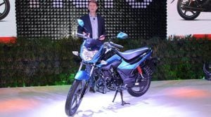 hero splendor ismart 110-images-auto-expo-unveil