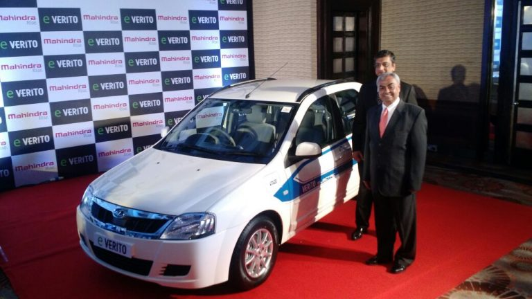 Mahindra Verito Electric Launched at INR 9.50 Lakhs!