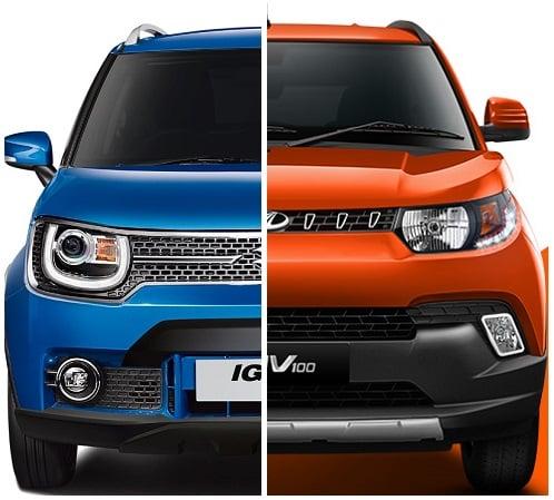 Maruti Ignis vs Mahindra KUV100
