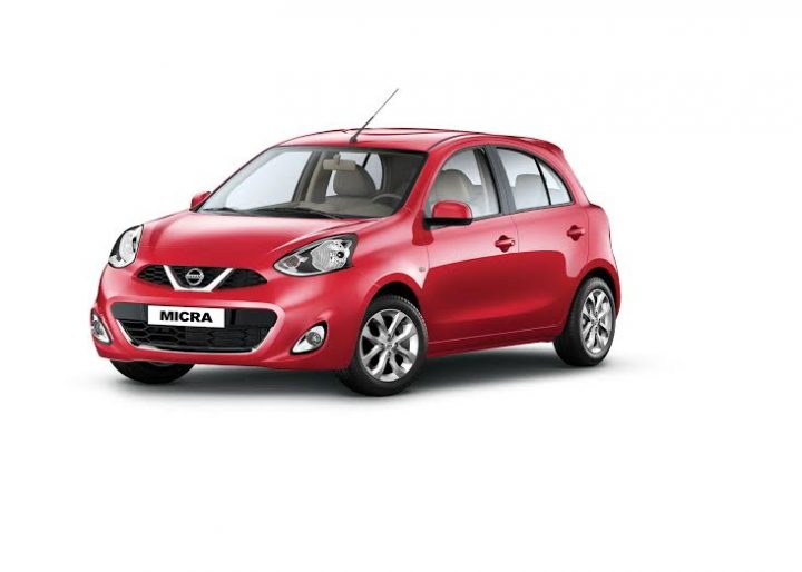Nissan Micra CVT Price, specifications, mileage nissan-micra-cvt-official-images-red-front-angle