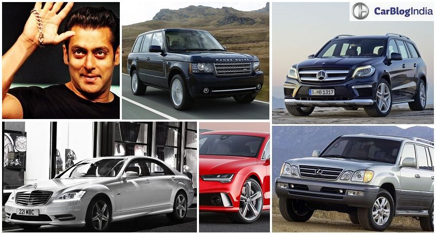 Salman Khan Cars With Images Price And All Details