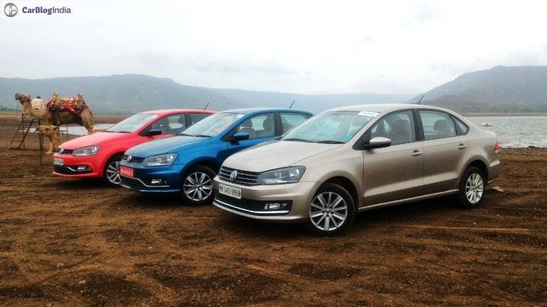 Volkswagen Ameo vs Vento vs Polo