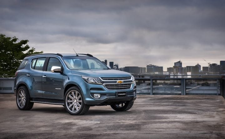 New Chevrolet Trailblazer 2017 India Launch Price Specification