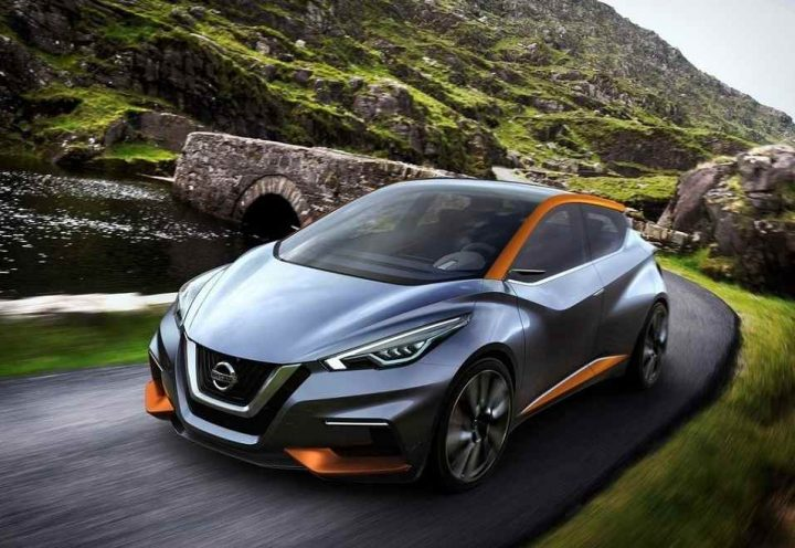 New Nissan Micra 2017 India Images Front Angle