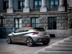 New Nissan Micra 2017 India Images Rear-Angle-3