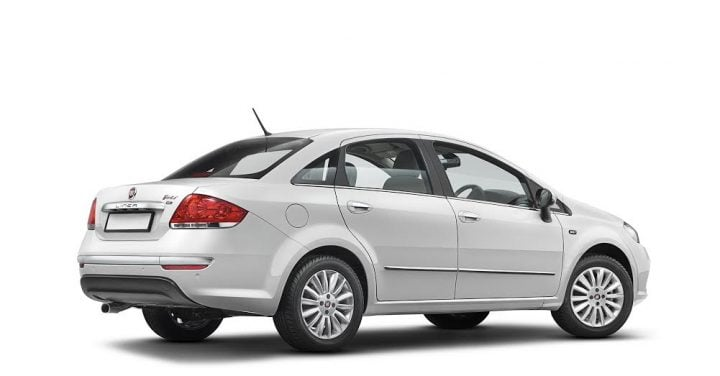 Fiat Linea 125 S Price, Specifcations, Images, Features, Details rear angle