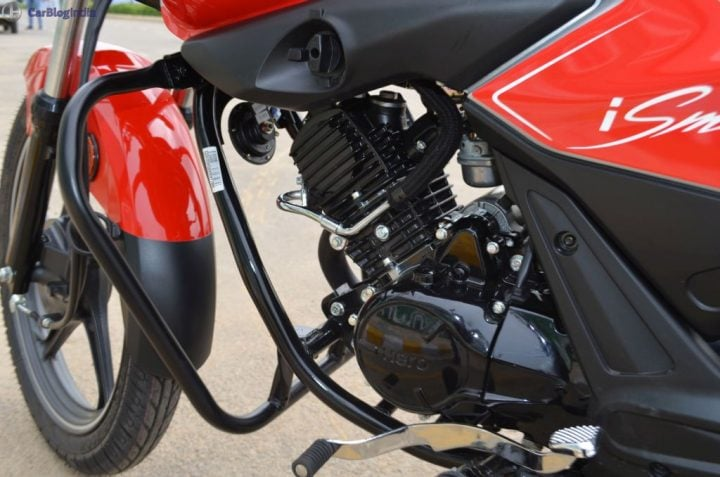 hero splendor ismart 110 test drive review engine