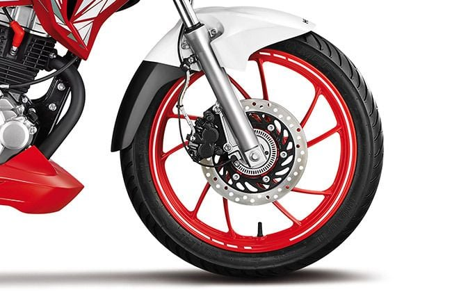 hero xtreme 200s abs images front alloy disc brake