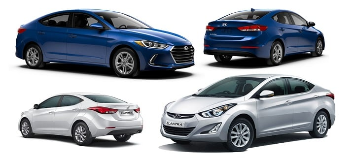 Hyundai Elantra New Vs Old Model Comparison Price Specification