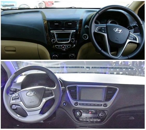 New 2017 Hyundai Verna Vs Old Model Comparison
