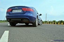 jaguar-xe-test-drive-review-rear-angle-low-1
