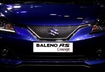 maruti baleno rs india images front end