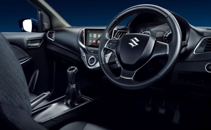 Maruti Baleno RS vs Baleno Comparison maruti baleno rs india images interior dashboard