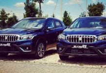 maruti s cross 2017 facelift front images