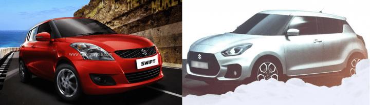 2017 Maruti Swift vs Old Model