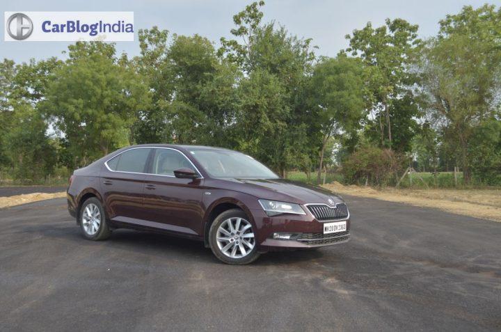 new car discounts on diwali 2017 - skoda superb petrol review images