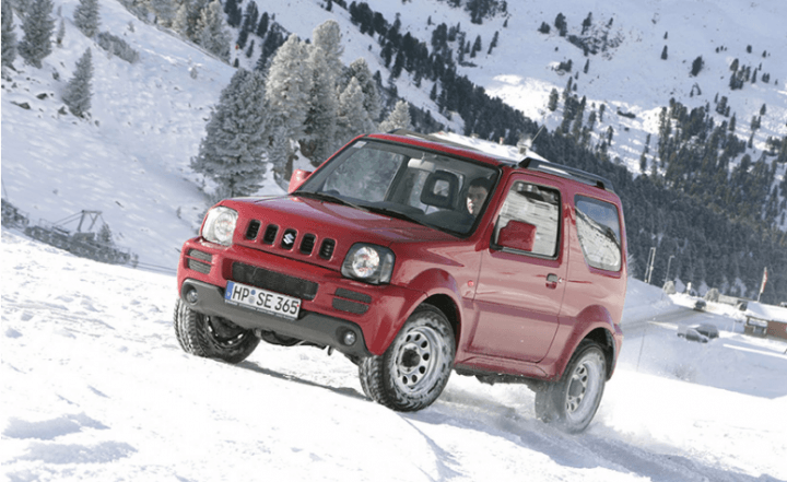 upcoming cars in india 2017 - Suzuki Jimny Images Front Angle
