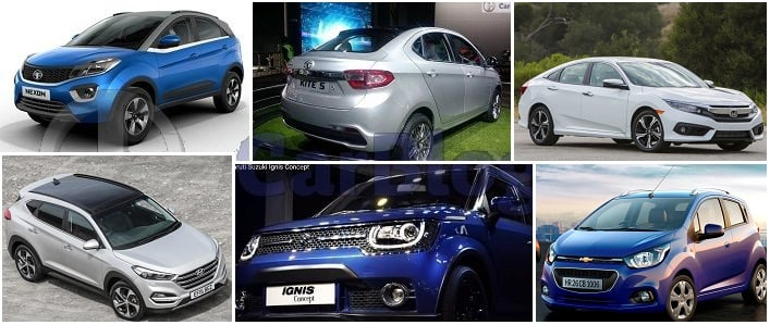 upcoming cars in india 2017