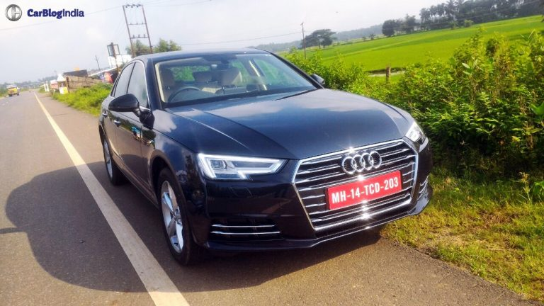 New Model 2016 Audi A4 Launched at Rs. 38.10 lakhs!