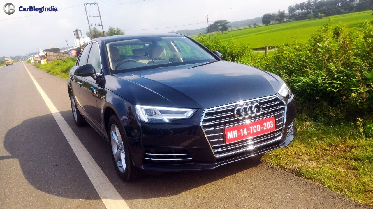 new model 2016 audi a4 india price 38 lakhs specifications features. Black Bedroom Furniture Sets. Home Design Ideas
