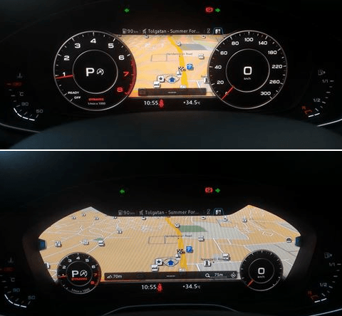 2016 audi a4 interior image virtual cockpit