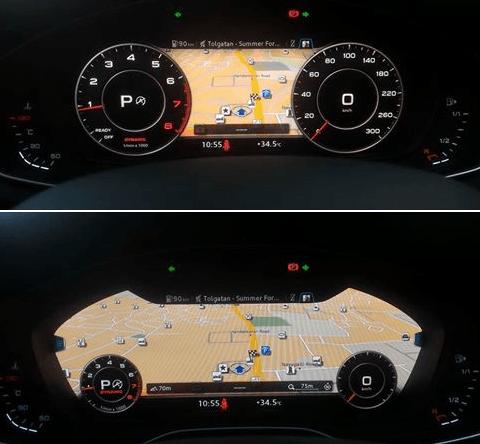 2016 audi a4 interior image virtual cockpit