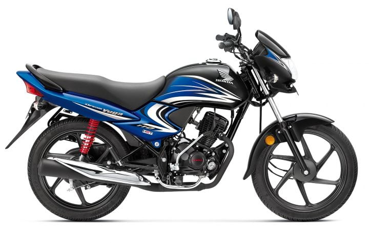 Best bikes Under Rs 60000 - honda dream yuga black-athletic-blue-images-1
