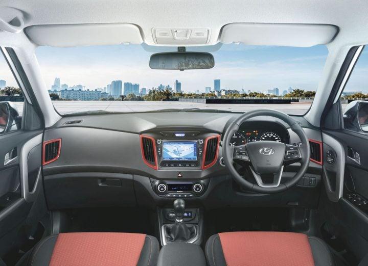Hyundai Creta Anniversaryc Edition images interior