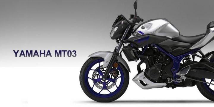 Yamaha MT 03 India Images