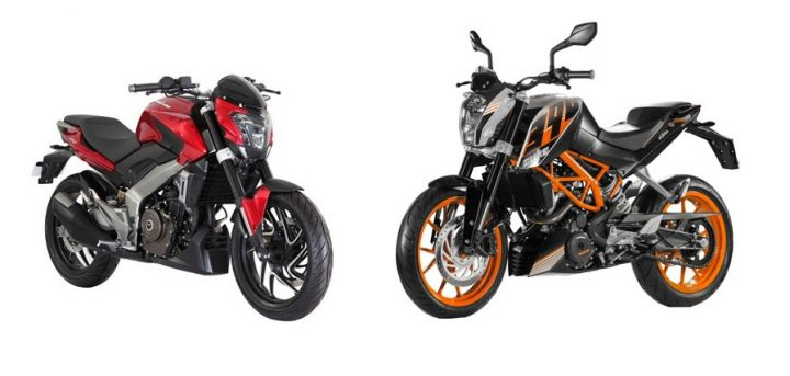 Bajaj Pulsar VS400 vs KTM 390 Duke Comparison Price, specifications bajaj-pulsar-cs-400-vs-ktm-390-duke