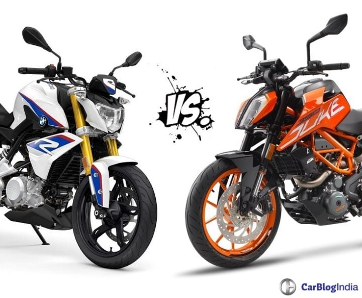 BMW G 310 R vs KTM 390 Duke