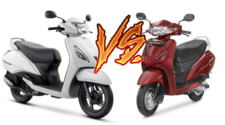 Honda Activa 4G vs TVS Jupiter 2017 [COMPARED!]