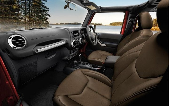 jeep wrangler india images-interior
