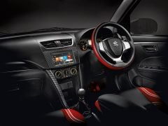 maruti swift deca limited edition images interior dashboard