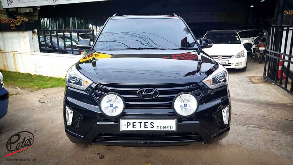 Modified Hyundai Creta In India With Images And Details Of